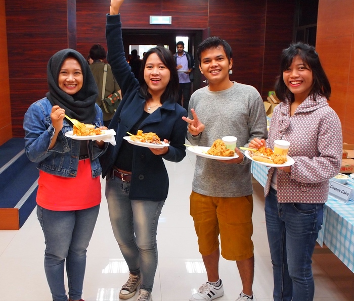 International students from Indonesia