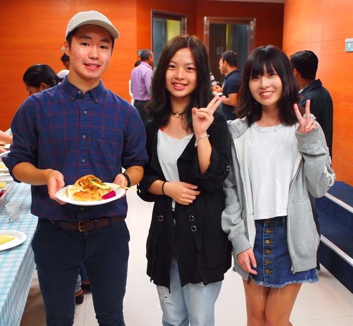 Exchange students from Rikkyo University Japan